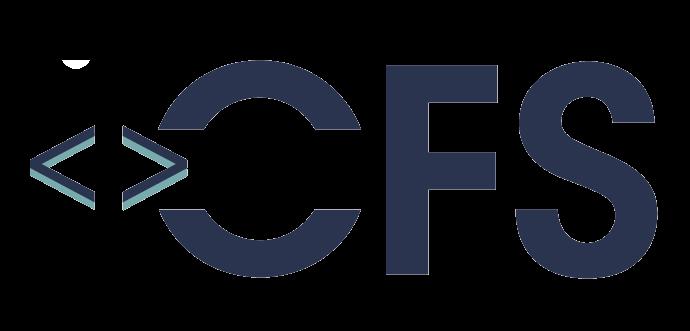 CFS logo, funeral credit card processing.