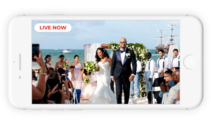 High-Quality Live-Streaming Services to Make Wedding Ceremonies Accessible to All