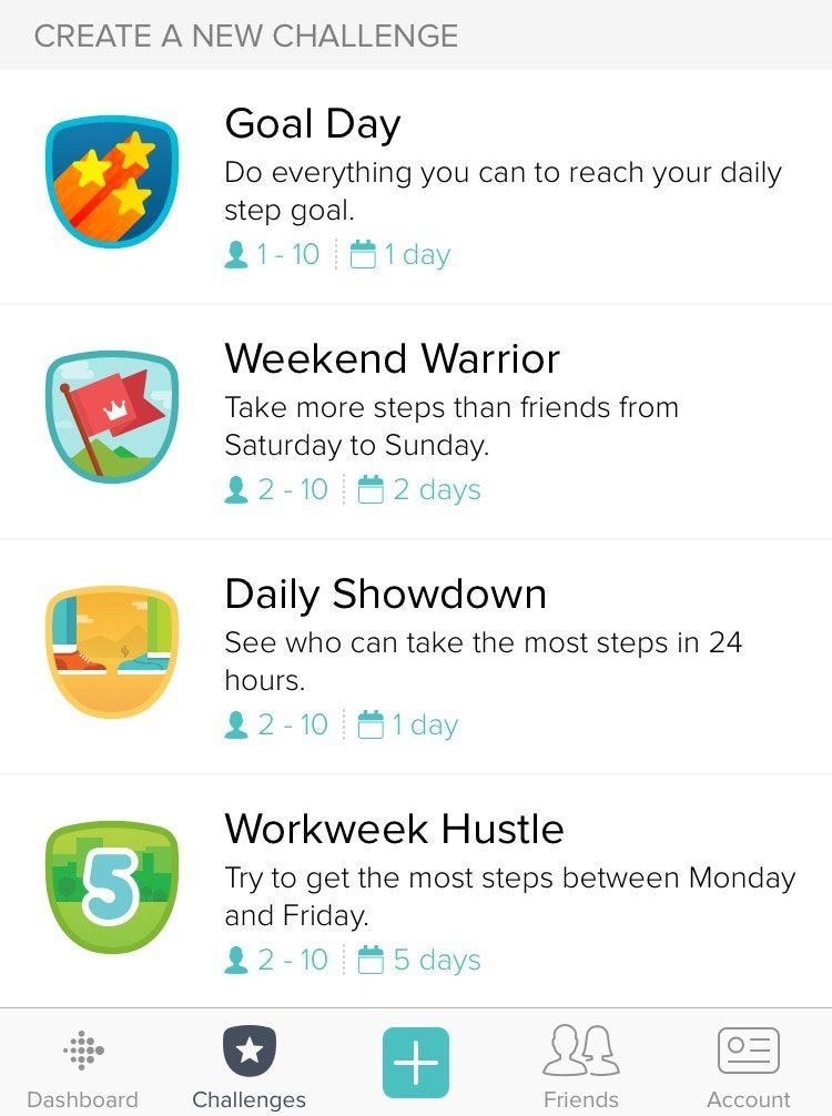 fitbit gamification example