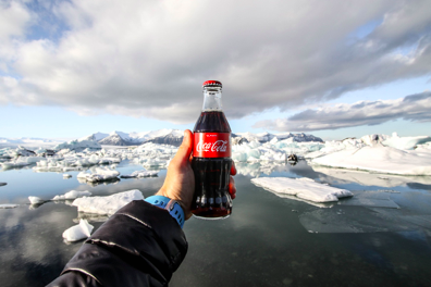 Coca-Cola uses an Undifferentiated Marketing Strategy