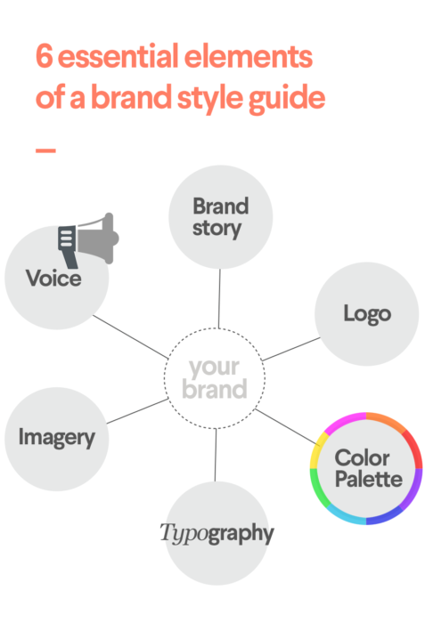 brand style guide infographic