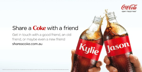 coca cola advertising campaign example