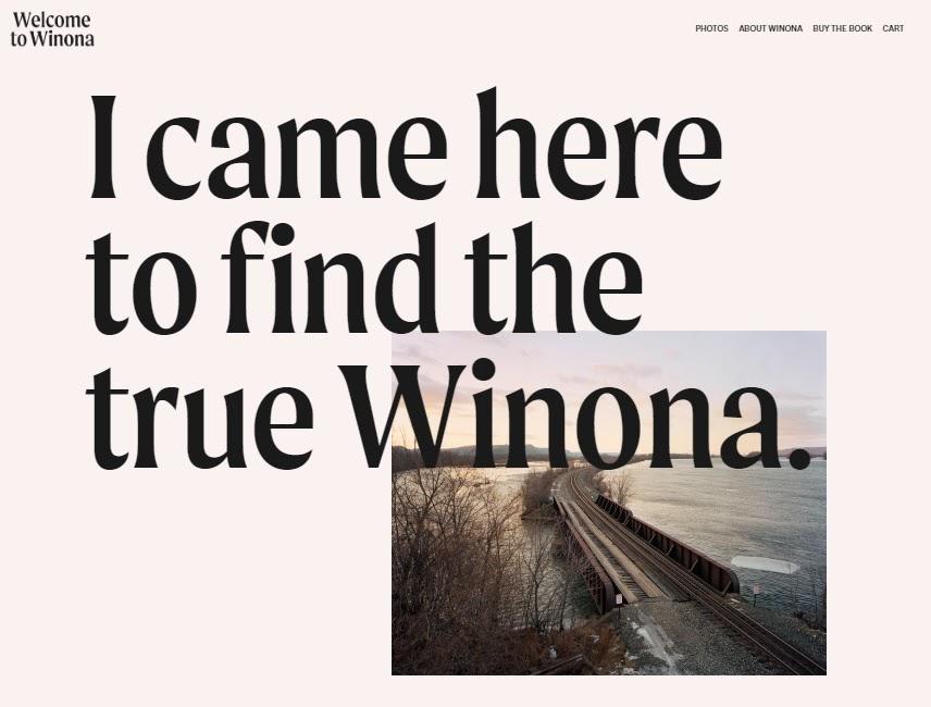 Winona Ryder website