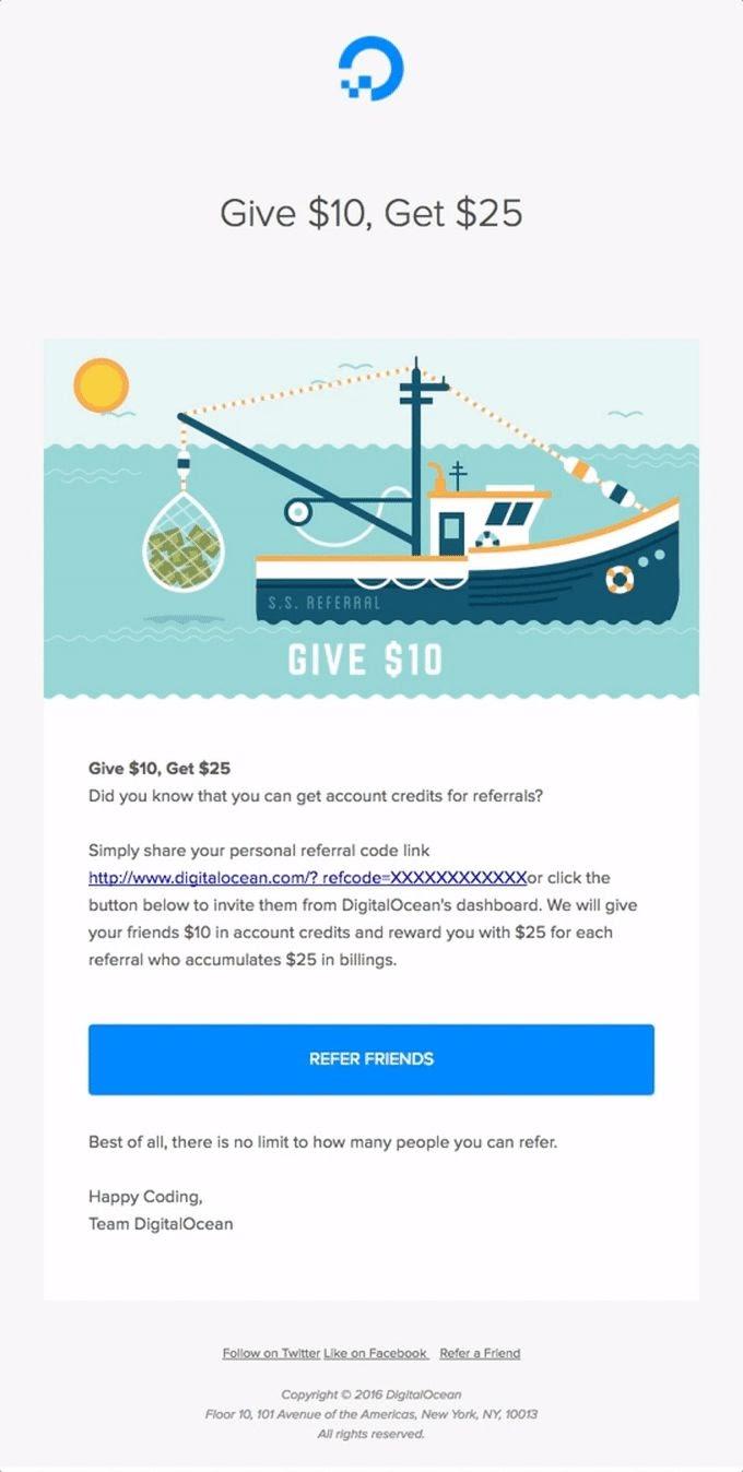 Digital Ocean referral program