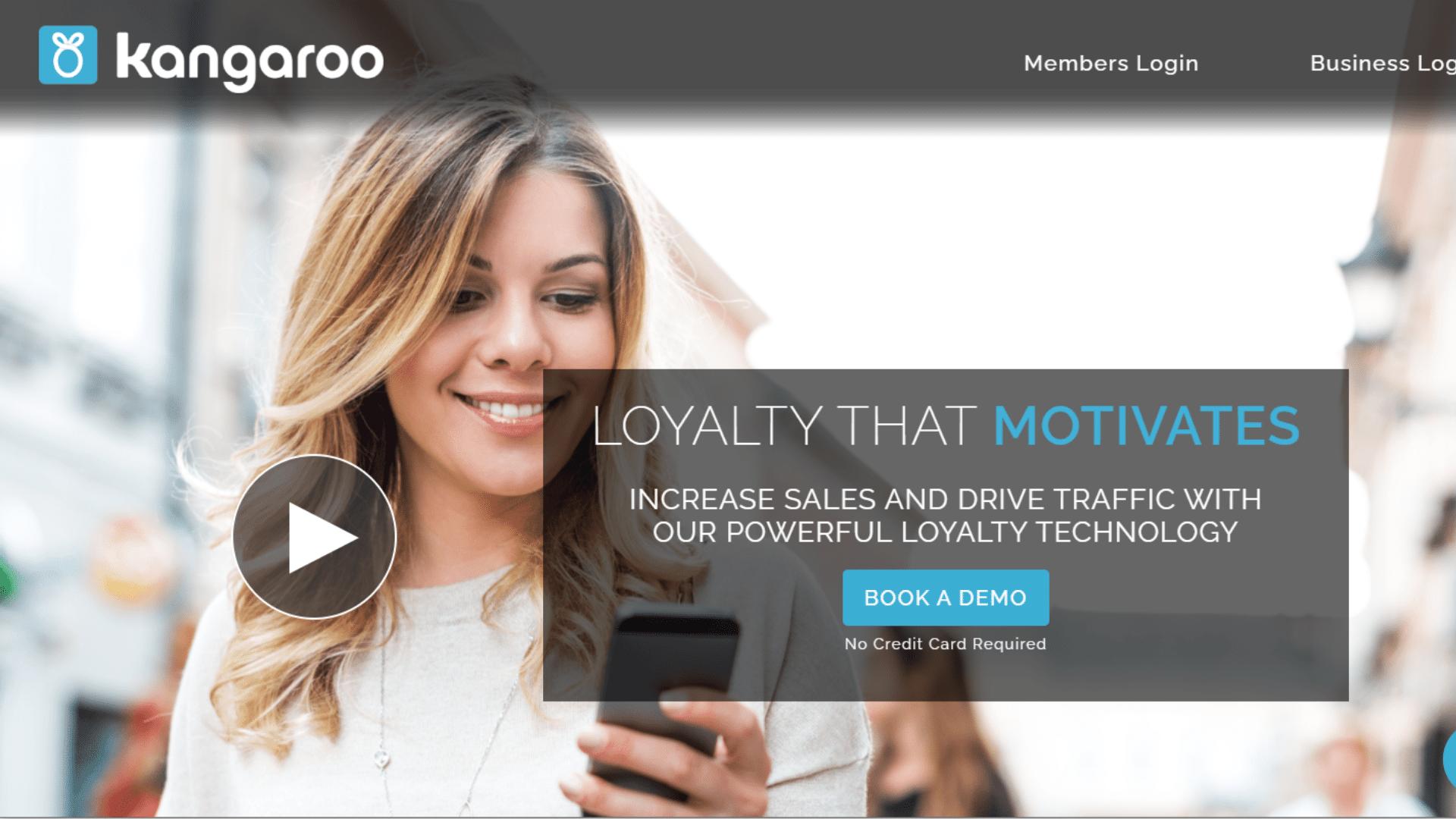 kangarro customer loyalty software