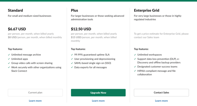 per use pricing model example