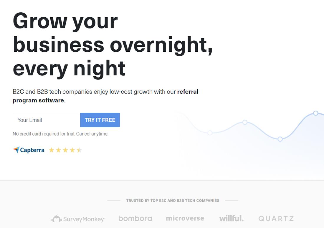 GrowSurf referral software