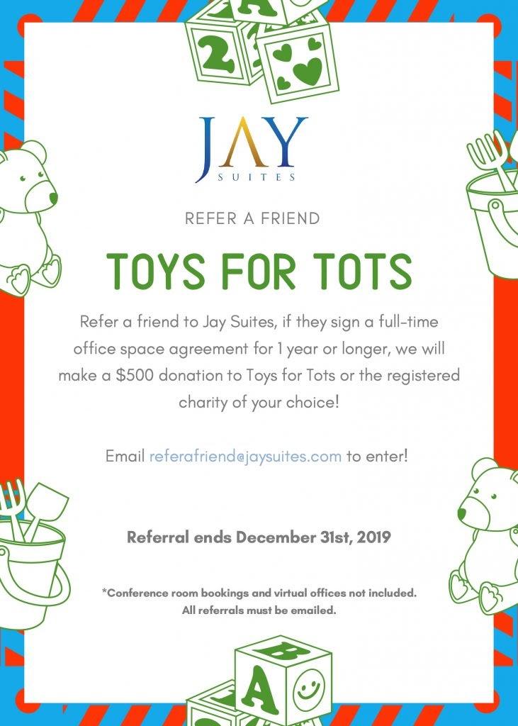 chairity donation referral reward