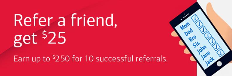 Bank of America referral program
