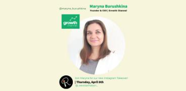 Maryna Burushkina on Raise The Barr Instagram Takeover