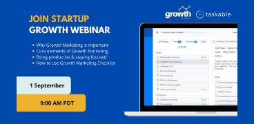 Startup Growth Webinar