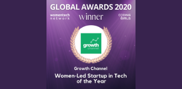 Growth Channel wins WomenLed Tech Startup Awards