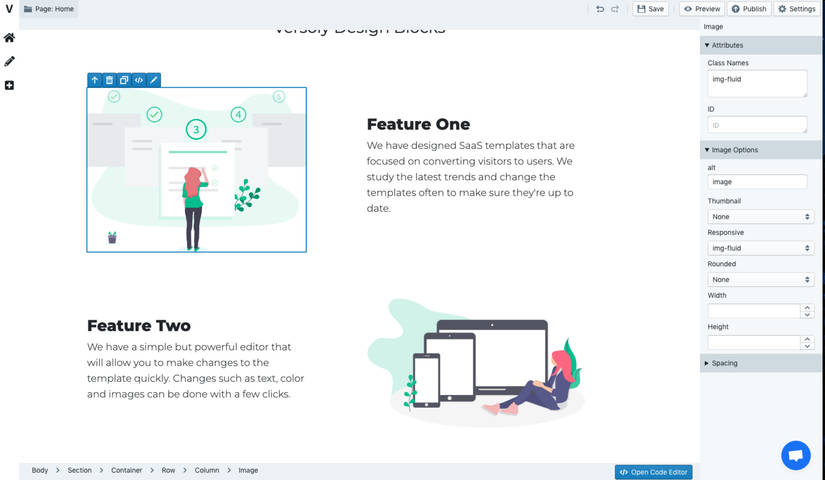 Versoly SaaS Web App