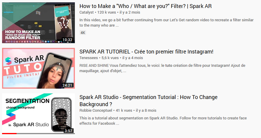 Tutorial youtube